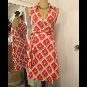 DVF Wrap Dress Sz 10
